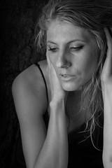 _KIP4124bw (Kristin Irons) Tags: portrait white black wet water beautiful nikon raw sad emotion crying 85mm portraiture emotional conceptual nikor d700