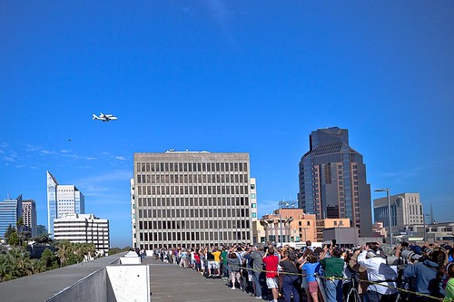 NASA shuttle Endeavor visits Sacramento!