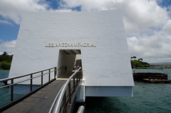 The Arizona Memorial Exterior 3 (deltaMike) Tags: usa hawaii memorial worldwarii pearlharbor usnavy ussarizona