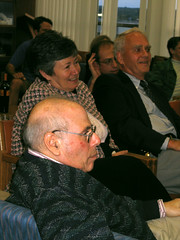 Slemrods & Stout at the Reception honoring Walter, Madison 2006 (ali eminov) Tags: reception madison professors honors mathematicians honoringwalterrudin slemrods leestout