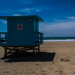 Lifeguard not on Beach (JarJar S.Mano) Tags: beach square lifeguard