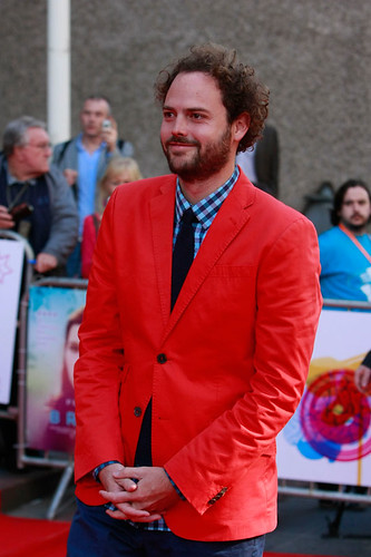 Drake Doremus arriving at the European premiere of Breathe In at Festival Theatre