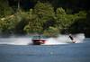 Ski Sunday (Watford Pat) Tags: lake boat waterskiing rickmansworth aquadrome