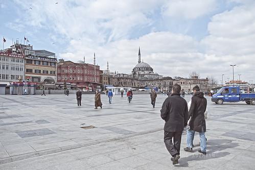 Bailando. Istambul. Marzo 2011