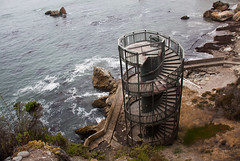Spiral Staircase to Nowhere - Pismo Beach, CA (ChrisGoldNY) Tags: california water architecture poster coast rocks forsale pacific spirals posters albumcover bookcover oceans centralcoast pismo pismobeach staircases slo sanluisobispo bookcovers albumcovers sanluisobispocounty challengewinners friendlychallenges thechallengefactory chrisgoldny friendlychallengessweep chrisgoldberg chrisgold chrisgoldphoto chrisgoldphotos