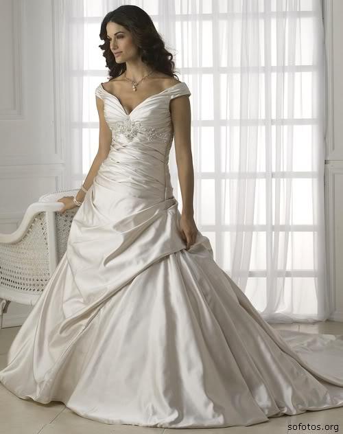Vestidos de noiva com manguinha