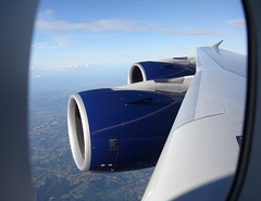 Trents over Kent (Steve Arthur 320) Tags: kent wing engine rollsroyce trent airbus a380 britishairways gxlea
