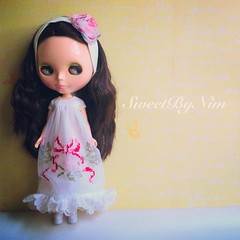 Have a good Wednesday. #blythe #blythedoll #sweetbynim