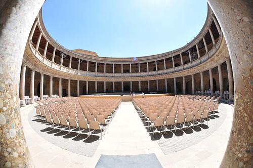La Alhambra - Palacio de Carlos V - Granada