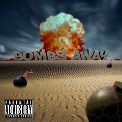 Bombs Away (PHILJSCI Photography & Design) Tags: blue red summer sky music cloud white green beach rock clouds photoshop square fire sand desert album label explosion pop cover adobe squareformat rap electronic bomb bombs dubstep adobecs6