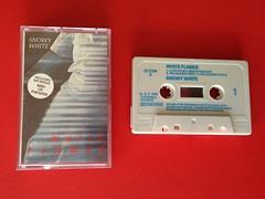 Snowy White Musicassette, White Flames (1983) (firehouse.ie) Tags: music white bird rock paradise phil snowy album flames blues tape lp 1983 thin cassette recording lizzy lynott musicassette prerecorded