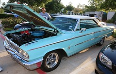 63 Galaxie (Bill Jacomet) Tags: cars coffee texas houston and 2013