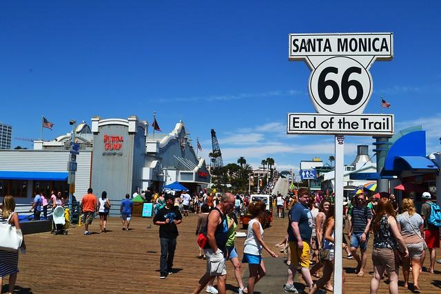 サンタモニカ(世界各国の観光名所を巡れるオプショナルツアー)