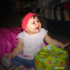 Victoria 1 an ! (didier95) Tags: portrait enfant bb