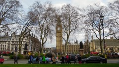 Parliament Square, City of Westminster, London (David McKelvey) Tags: city uk greatbritain england london westminster bike bicycle square tour fat royal parliament tire 2013