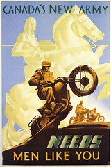 "WW2 Canadian recruiting poster • <a style=""font-size:0.8em;"" href=""http://www.flickr.com/photos/81723459@N04/9996484503/"" target=""_blank"">View on Flickr</a>"