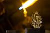 The light within (ysoseriuos) Tags: light abstract reflection glass flame seethrough chennai glasssculpture 50mm18 dakshinchitra canon550d scottwelbyworldwidephotowalk2013