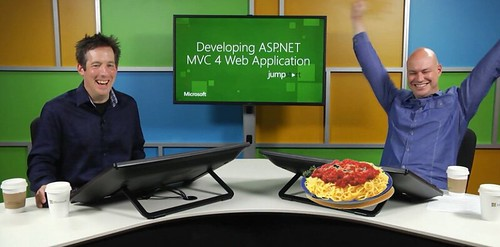 Bonus spaghetti at MVA ASP.NET MVC 4 Jump Start