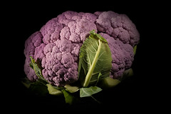 Purple Cauliflower (David Guyler) Tags: food cooking fruits lunch cuisine healthy colorful raw purple natural eating traditional vegetable fresh gourmet eat health vegetarian cauliflower grocery nutrition