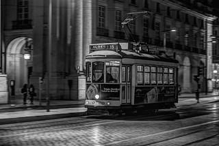 Empty tram..