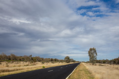 Small Storm (oz_lightning) Tags: road trees sky nature ecology forest landscape transport australia nsw aus walgett canonef24105mmf4lisusm canon6d