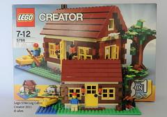 Lego Creator 5766 Log Cabin (KatanaZ) Tags: lego logcabin creator lego5766