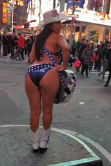 naked cowgirl times square (branko_) Tags: new york city nyc naked square times cowgirl vision:outdoor=0774