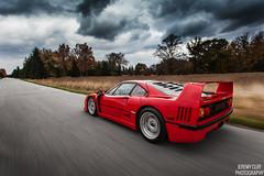 Ferrari F40 (jeremycliff) Tags: red ferrari exotic supercar f40 ferrarif40 jeremycliff jeremycliffphotography