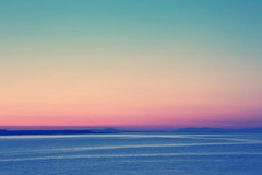 pastel sky (thatgirlwiththekicks) Tags: pink ireland sunset sea summer sky dublin irish green evening aqua purple bright dusk pastel vivid gradient balbriggan