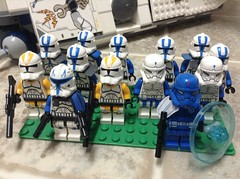 Clone Troops (Johnny-boi) Tags: lego troopers special minifigs clone rex forces minifigure