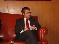 Marco António Costa em reunião com a AEP