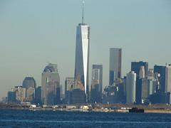 One World Trade Center November 30, 2013 (NYMAN2010) Tags: newyorkcity newyork fall brooklyn skyscraper manhattan worldtradecenter spire wtc mast lowermanhattan freedomtower 69thstreetpier oneworldtradecenter