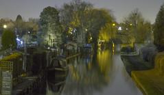 Canal (Craig Copestake) Tags: street night lights canal nikon barge