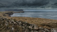 Looking towards Ardmore Point, Skye (dscott14) Tags: winter sea skye wall landscape coast scotland cliffs ardmore waternish trumpan