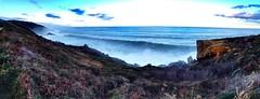 Tsunami jaizkibel (asier pagoaga) Tags: mar waves tsunami montaa olas ura itsasoa jaizkibelbizirik uploaded:by=flickrmobile colorvibefilter flickriosapp:filter=colorvibe