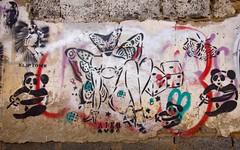 Aiko - Kliptown (Mr Baggins) Tags: streetart graffiti stencilart soweto kliptown ladyaiko