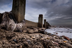 Message in a Bottle - Hornea, East Yorkshire (Iamamanc) Tags: sea beach oak yorkshire wideangle stormy pebbles stormclouds groynes eastyorkshire longshoredrift yorkshirecoast wetpebbles shinypebbles floatsome tokina1116f28 woodengroynes adrianfortune sonyalphaa77 hornea adrianfortuneskycom