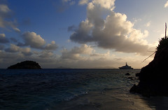 P1070032 (jaglazier) Tags: trees sunset panorama mountains colors clouds boats islands landscapes sand waves seascapes transport january sunsets carribean beaches grenadines yachts motorboats sailboats forests reefs lighteffects deciduoustrees 2014 1714 sandybeaches saintvincentandthegrenadines copyright2014jamesaferguson copyright2014jamesaglazier cambelspath