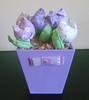 cachepo lilas médio 02 (Fazendo Arte Artesanato) Tags: flor vaso tulipa tecido cachepo vasodetulipa
