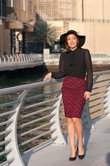 Sara and Nataliya -26 (Willy_G91) Tags: color fashion marina 50mm blog nikon dubai sara dress outdoor walk united uae emirates arab shooting 18 d300 marinawalk nataliya dubisa httpwwwdubisacom