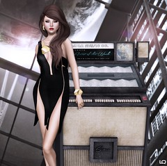 Faenzo Mirte Structural Dress & LaGyo Mirte Necklace& Bangles for rC88