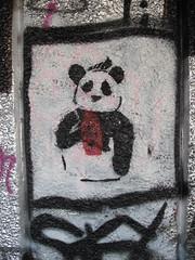 stencil panda, Southbank (duncan) Tags: stencil panda southbank