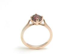 ガーネットの指輪 (jewelrycraft.kokura) Tags: pinkgold garnet 18k ピンクゴールド 指輪