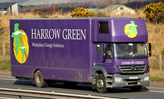 MB Axor - HARROW GREEN Business Relocation London (scotrailm 63A) Tags: trucks removals lorries