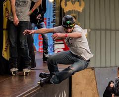 Slide ! Gladiator contest ! (Mael Pavageau Photographie) Tags: canon skatepark skate roller lehangar