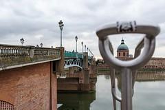 (lyli12) Tags: toulouse monument monumenthistorique garonne hautegaronne pont urbain créativité nikon d7000