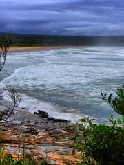 sml-fhdr-DSCN0118 (elphweb) Tags: roughseas roughsea ocean nsw australia sea water waves breakers storm coast coastal falsehdr fhdr bigwaves bigsurf surf foam mist