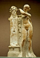 goddess (?) with herm (circe27) Tags: ancientgreece phallus