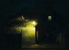 : (june1777) Tags: snap street seoul seochon night light mamiya 645 c 80mm f19 kodak portra 800 pro tl sekor