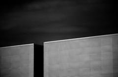 Angle Cut (Darren LoPrinzi) Tags: 5d canon5d fl canon florida miii mono bw blackwhite blackandwhite architecture architectural abstract angle diagonal minimal minimalism lowkey